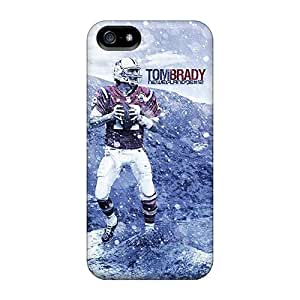 New Customized Design New England Patriots For Iphone 5/5s Cases Comfortable For Lovers And Friends For Christmas Gifts