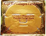 6 XGold Bio-Collagen Facial Mask, Anti-Aging, Hydrating, Moisturizing Face Mask