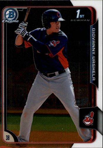 2015 Bowman Chrome Prospects #BCP11 Giovanny Gio Urshela RC Rookie MLB Baseball Trading Card
