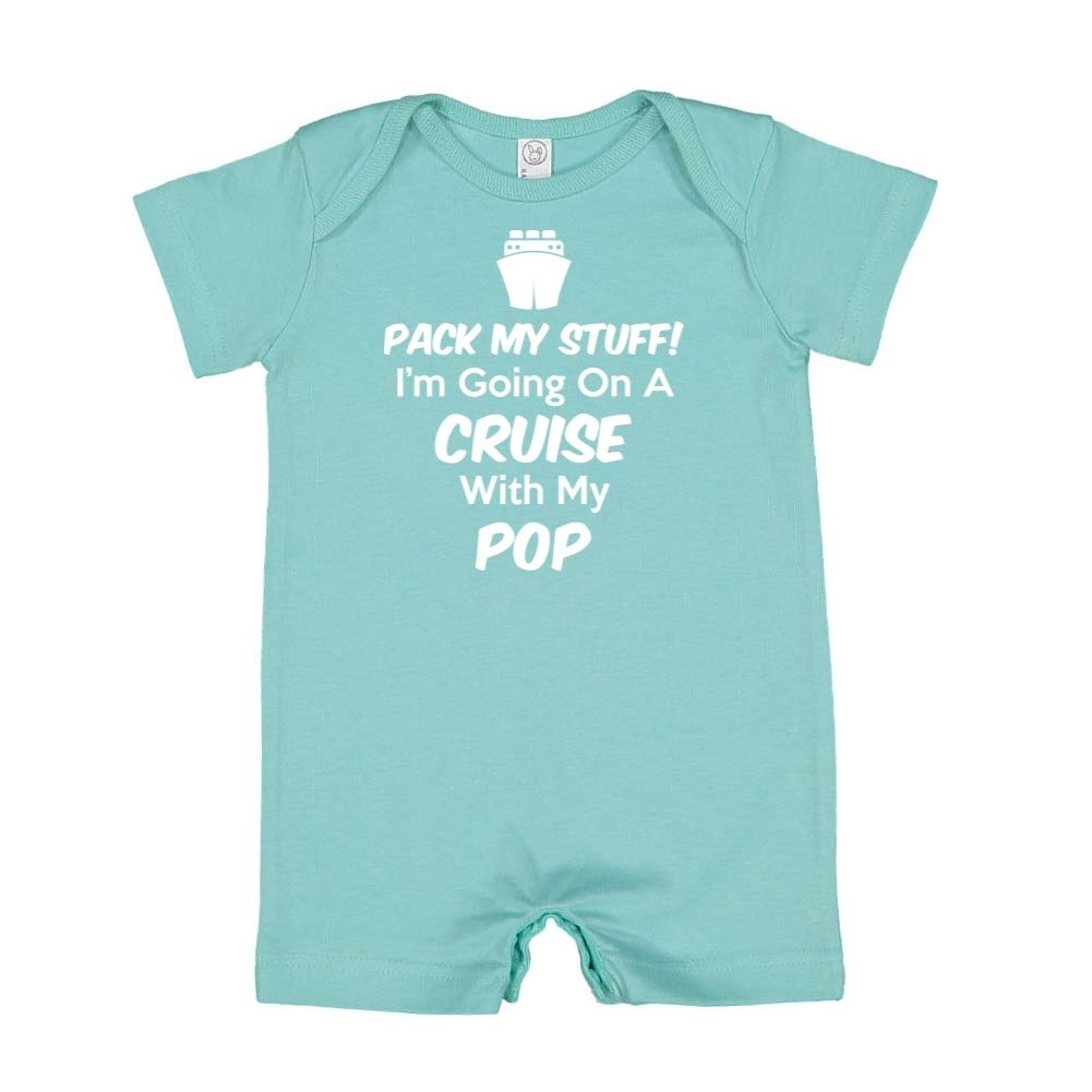 Im Going On A Cruise with My Pop Pack My Stuff Baby Romper