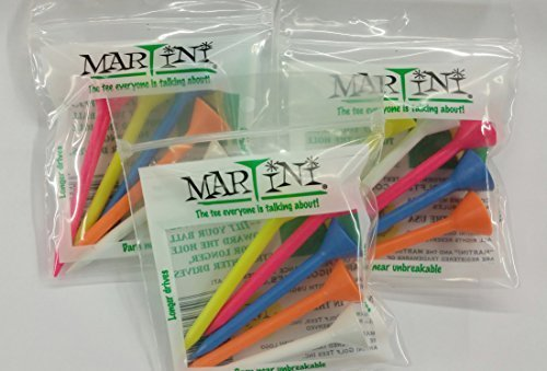 Martini Golf Tees Assorted 5-pack (3 Count) by Martini Golf Tees (Image #1)