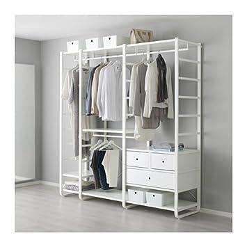 IKEA 3 secciones estante de pared, blanco 80 3/4 x 21 5/8 x ...