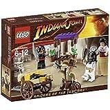 LEGO - 7195 - Jeu de construction - Indiana Jones - Embuscade au Caire