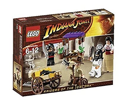 Amazon.com: Lego Indiana Jones 7195 Raiders Of The Lost Ark: Ambush ...