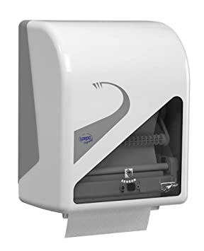 Dispensador de Sensor WEPA Prest para rollo Toallas de mano: Amazon.es: Oficina y papelería