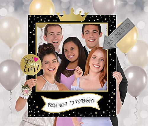 Prom Customizable Giant Selfie Frame Set | Party Favor | 1 Set -