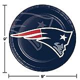 New England Patriots Paper Plates, 24 ct