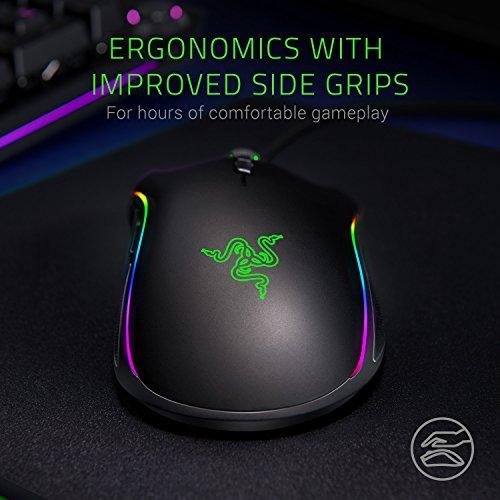 Razer Mamba Elite Wired Gaming Mouse - [16, 000 DPI Optical Sensor][Chroma Rgb][9 Programmable Buttons][Mechanical Switches] by Razer (Image #4)
