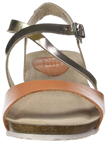 Tbs Brown Champagne Toe sienne Women's Stefany Open G46 Sandals rCqrBwO