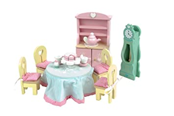 Le Toy Van Daisylane Wooden Dollu0027s House Furniture   Drawing Room Set