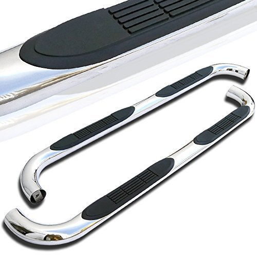 Side Step Chrome - Spec-D Tuning SSB3-F15099SCS2-WB Ford F150 Super Extend Cab Chrome 3