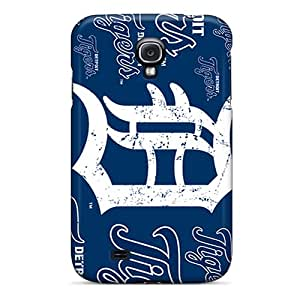 New Ercox Super Strong Detroit Tigers Tpu Case Cover For Galaxy S4