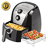 oil air cooker - Secura Electric Hot Air Fryer and additional accessories (5.3 Qt)