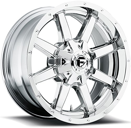 Fuel Maverick 18 Chrome Wheel / Rim 5x4.5 & 5x5.0 with a 1mm Offset and a 72.6 Hub Bore. Partnumber D53618902650
