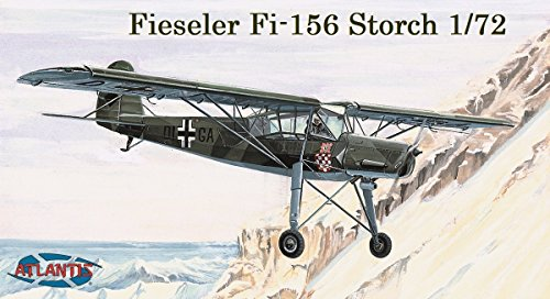 Fieseler Storch 1943 Model Aircraft Kit 1/72 Atlantis Toy and Hobby