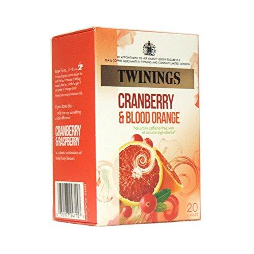 (Twinings - Cranberry & Blood Orange - 20 Tea Bags -)
