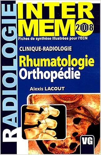 Telechargez Des Livres Gratuits Sur Pdf Rhumatologie