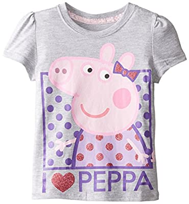 Peppa Pig Girls' Short Sleeve T-Shirt