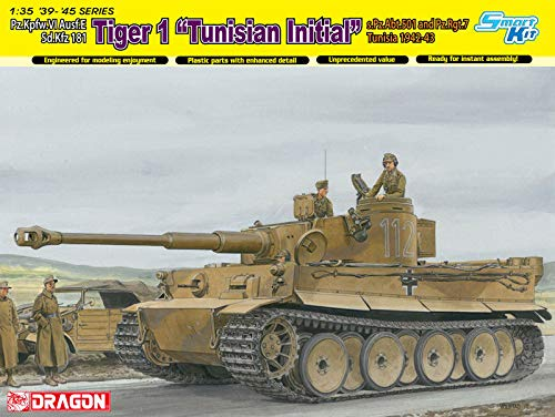 "Dragon Models 1/35 Tiger I Initial Production ""Tunisian for sale  Delivered anywhere in USA"
