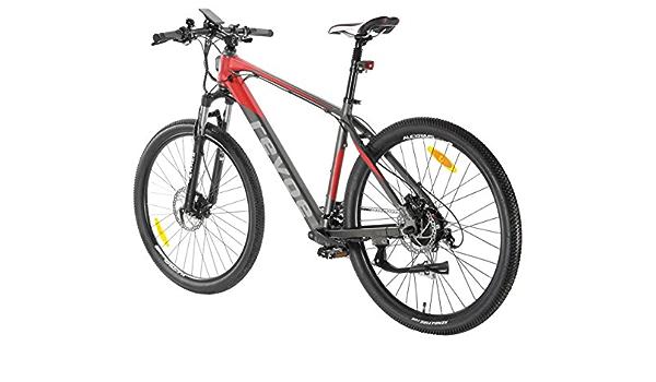 revoebike Arrow bicicleta urbano eléctrica rojo 26