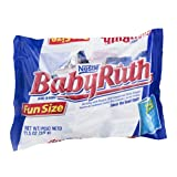 Nestle Baby Ruth Fun Size Bar, 11.5 OZ (Pack of 12)