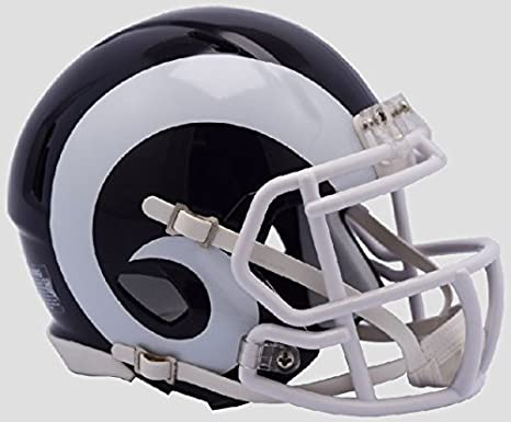 Image Unavailable. Image not available for. Color  Los Angeles Rams New  2017 Logo Riddell Revolution Speed ... d53b77c23