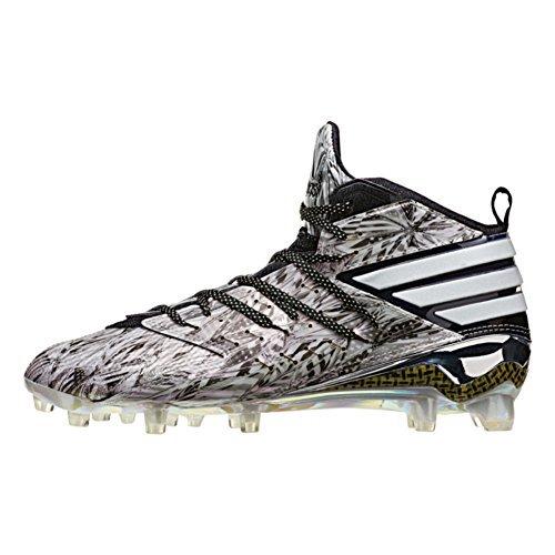 Picture of adidas Freak X Kevlar Mens Football Cleat 10.5 Black-White-Platinum