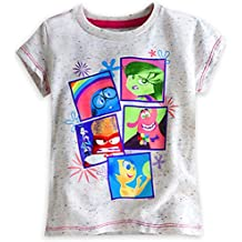Disney Store Deluxe Inside Out Tee T Shirt Fear Joy Anger Disgust