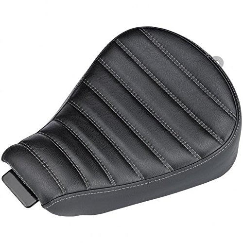 Biltwell S8-VIN-04-BH Sporty-8 Seat (With Hand-Stitched Horizontal Design) by Biltwell