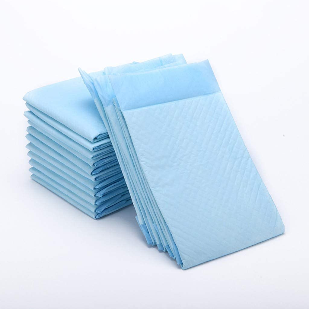 XGao/ Bed Pad Disposable Bed Pads 10pcs Hospital Grade 1500ml Super Absorbent Leak Proof Bed Mats with Adhesive Waterproof Mattress Pads Protector Bedwetting Pads for Kids