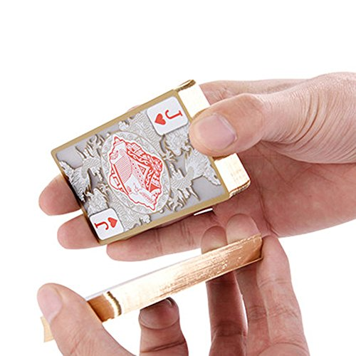 ZGUO Phnom Penh crystal plastic playing cards upgrade travel portable durable waterproof by ZGUO