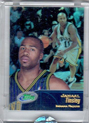 01 Sealed eTopps Jamal Tinsley