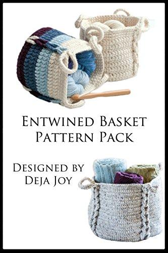 Pattern Crochet Basket (Entwined Basket Pattern Pack)