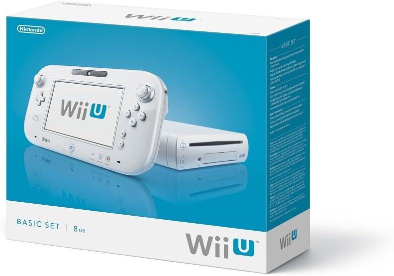 ff529158343 Amazon.com: Nintendo Wii U Console 8GB Basic Set - White: Video Games