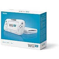 Nintendo Wii U: Basic Pack - game consoles (Wii U, IBM PowerPC, AMD Radeon, SD, SDHC, 802.11b, 802.11g, 802.11n, 1080i, 1080p, 480i, 480p, 720p) White