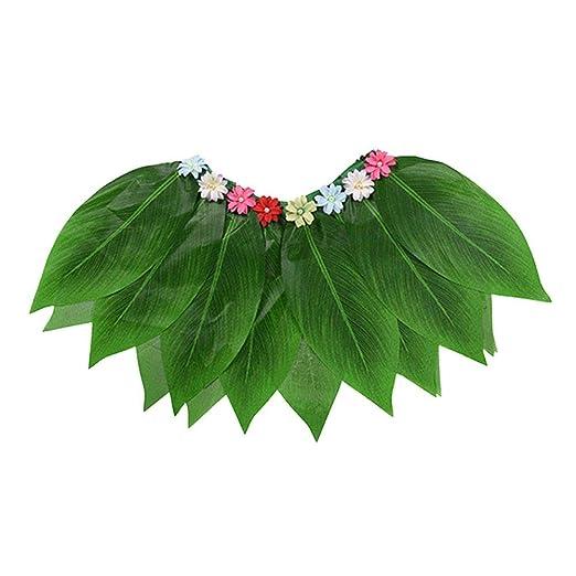 Bulary Simulación Hojas de Rendimiento Disfraces Fiesta Hawaiana ...