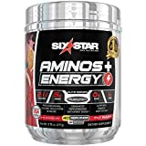 Six Star Aminos Plus Energy, BCAA Powder, Fruit Punch, 40 Servings, 277 Gram Review