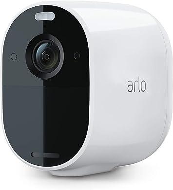 Arlo Essential Spotlight Wlan Überwachungskamera Kabellos Innen Aussen 1080p Farbnachtsicht Bewegungsmelder 6 Monate Akku 2 Wege Audio Direkte Wlan Verbindung Kein Hub Benötigt Vmc2030 Baumarkt