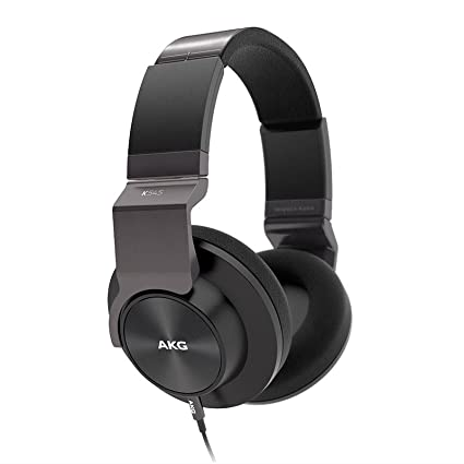 8bf3b511d4d Amazon.com: AKG K545 BLK Studio-Quality, Closed-Back, Over the Ear  Headphones (Black): Home Audio & Theater