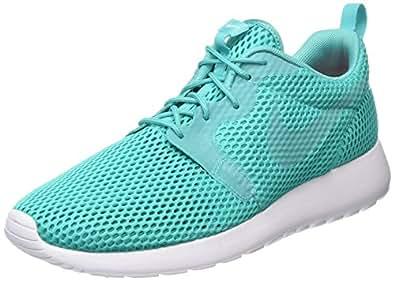 Nike Men's Roshe One Hyp BR Clear Jade/Clear Jade/White Running Shoe 7.5 Men US
