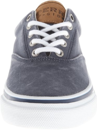 Sperry Striper Laceless - Sneakers per uomo, Blu (Blu (Navy)), 40