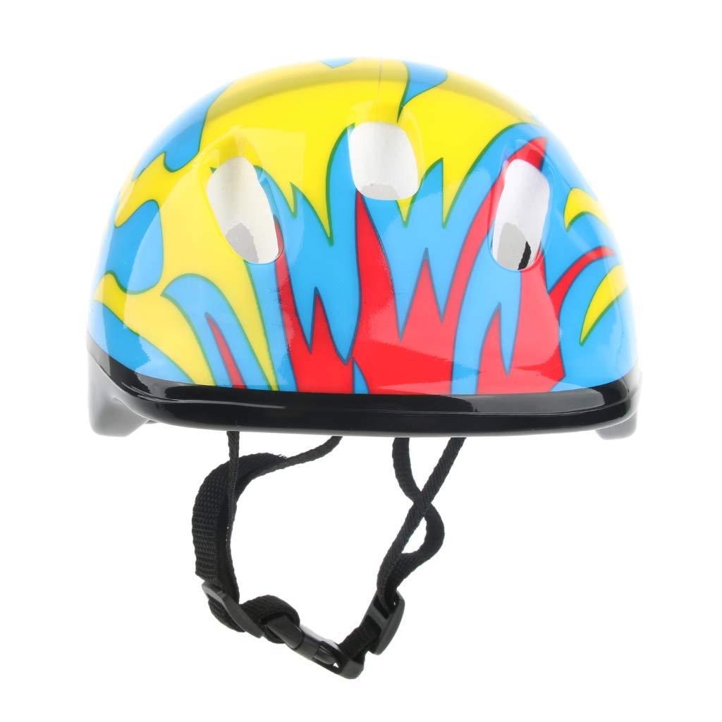 perfeclan Verstellbar Kinder Helm Sporthelm Fahrradhelm f/ür Fahrrad Motorrad Skateboard Schifahren
