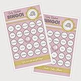 3 sets of 16 Pink Elephant Bingo