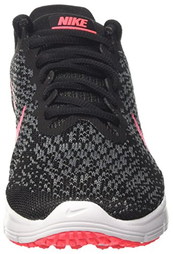 Nike Wmns Air Max Sequent 2 - Zapatillas de Deporte Mujer Negro (Black/racer Pink/anthracite/cool Grey/wolf Grey/white)