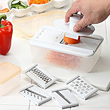 Mandoline Food Slicer for Vegetables and Cheese - LIFETIME GUARANTEE