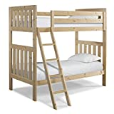Canwood Lakecrest Twin over Twin Bunk Bed, Natural For Sale