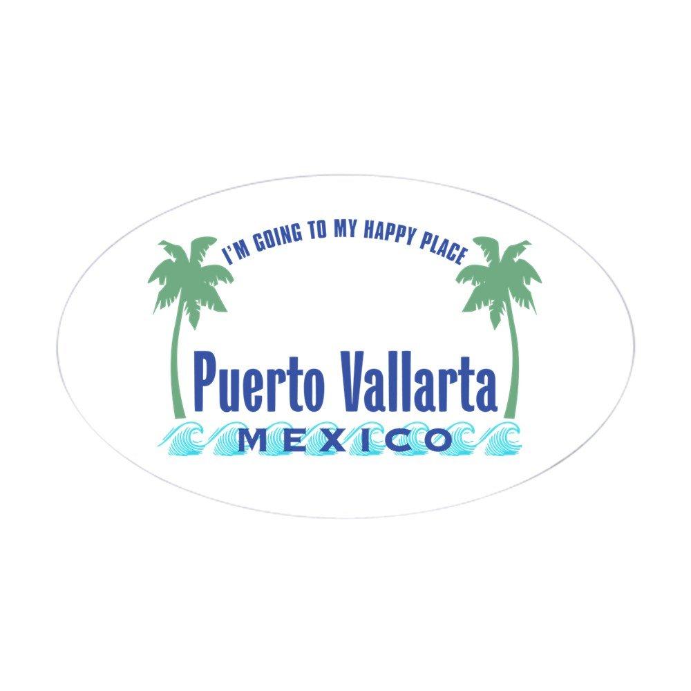 人気定番 CafePress – Puerto Vallarta Happy Place 3x5 – ユーロオーバル楕円形ステッカー B00PL0W99Y – Small オーバルバンパーステッカー、車デカール Small - 3x5 ホワイト 02885219363C784 Small - 3x5 ホワイト B00PL0W99Y, 鹿島木材:eed7d393 --- mvd.ee
