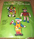 Bucilla Christmas Needlecraft Pinocchio Felt Ornaments Kit