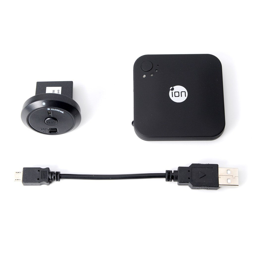 iON Camera CONNECT Kit with ION Wi-Fi PODZ/ION Battery Booster/USB Cable (5004)