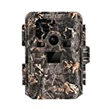 TEC.BEAN Game Trail Hunting Camera, 12MP 1080P Full HD No Glow Infrared Wildlife Camera with Night...